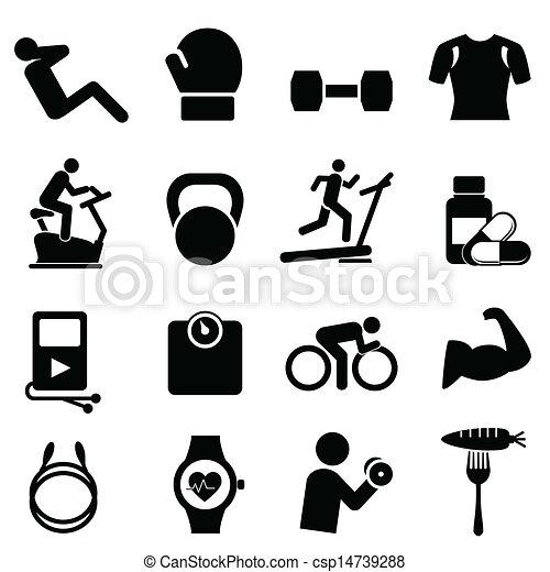 Fitness, Ernährung und gesundes Leben - csp14739288