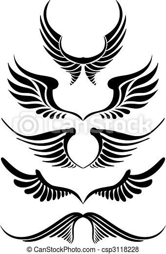 Flügel - csp3118228