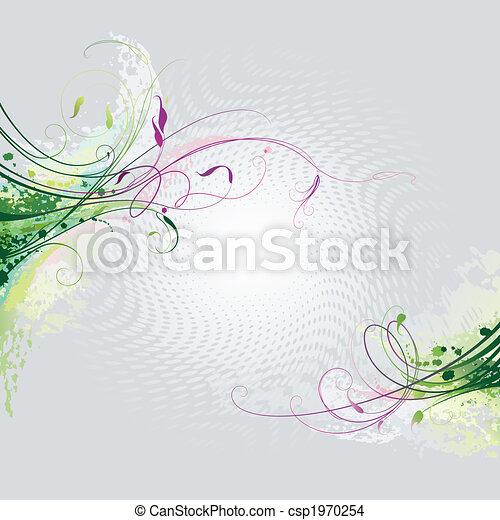 Floral Hintergrund - csp1970254