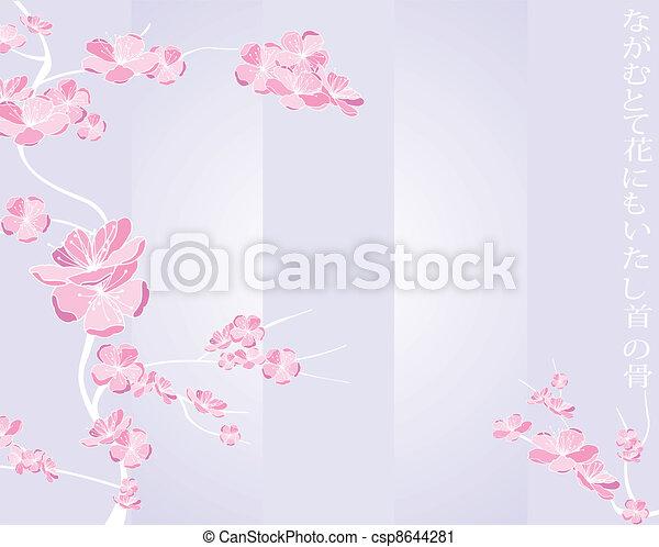 Frühlingsblumenmuster - csp8644281