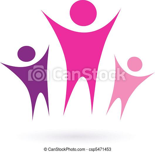 Frauengruppe / Community Icon - csp5471453