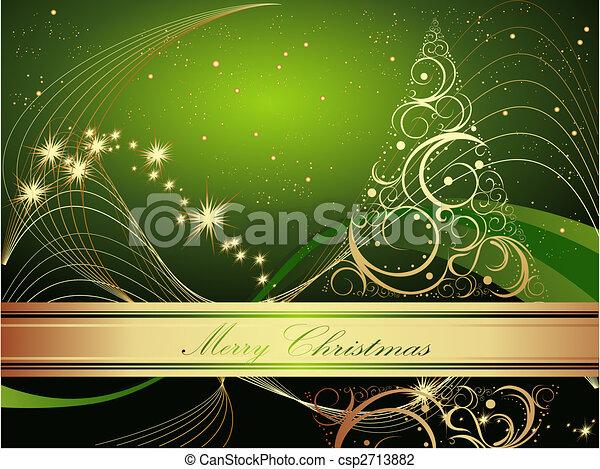 Frohe Weihnachten - csp2713882