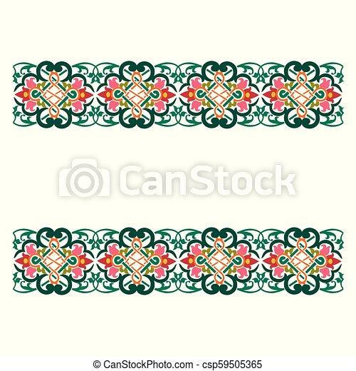 Garnished künstlerisches Design. - csp59505365