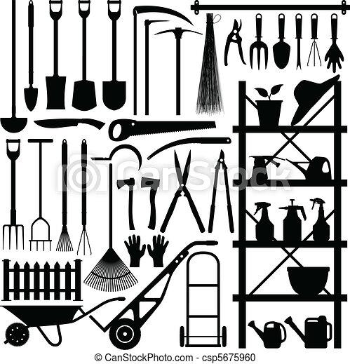 Gartenwerkzeuge - csp5675960