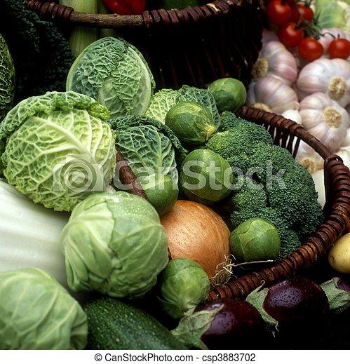 Gemüse bleibt Leben - csp3883702