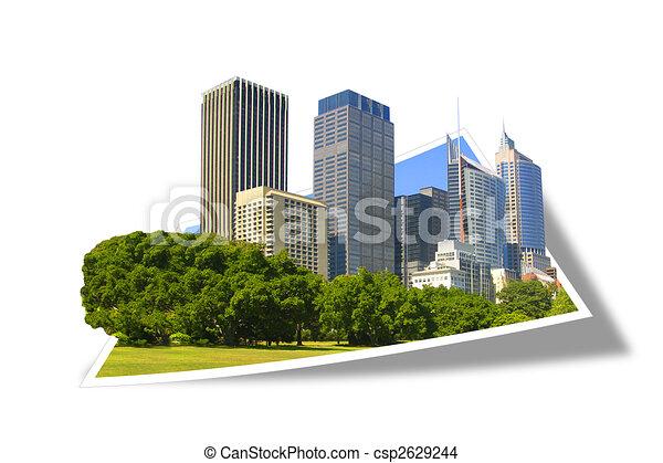 Geschäftsgebäude - csp2629244