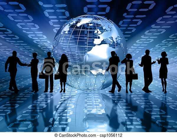 Geschäftsleute - csp1056112