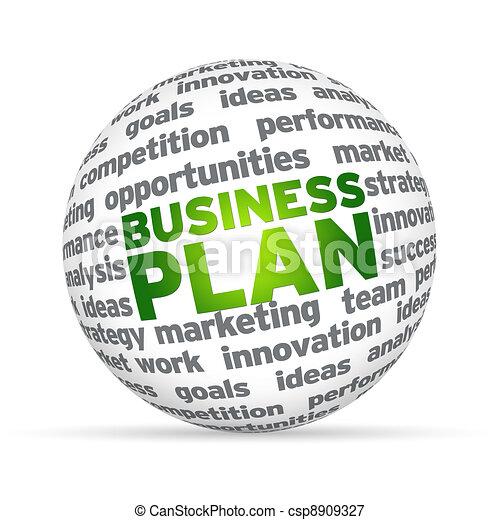 Geschäftsplan - csp8909327