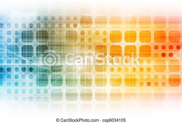 Geschäftstechnologie - csp6034105