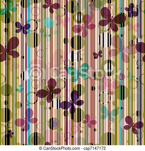 Gestreiftes nahtloses Muster - csp7147172