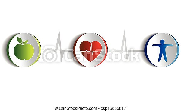 Gesunde Lebensweise - csp15885817