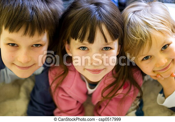 Glückliche Kinder - csp0517999