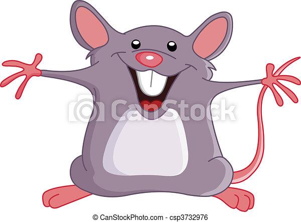 Glückliche Maus - csp3732976