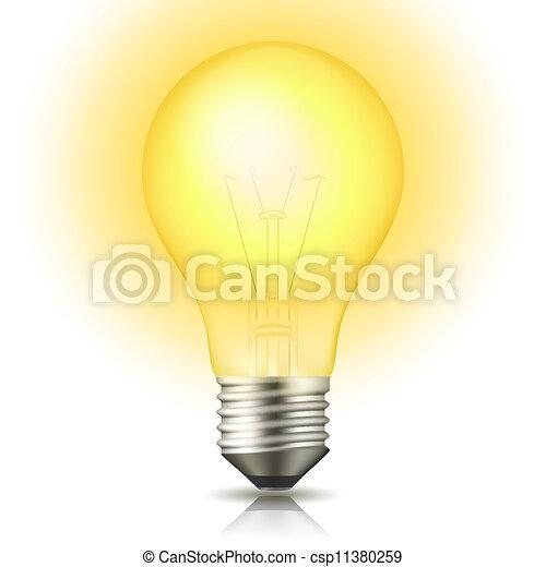 Glühbirne - csp11380259