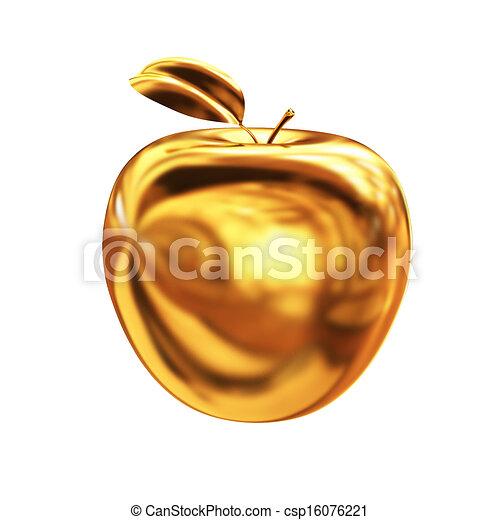 Goldapfel. - csp16076221
