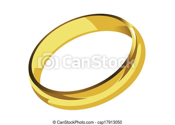Golden Ring Single. - csp17913050