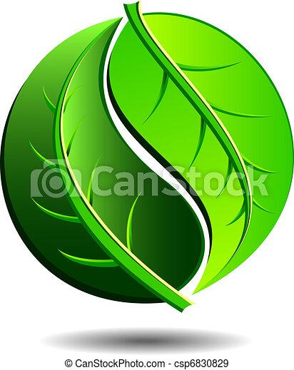 Grüne Ikone - csp6830829