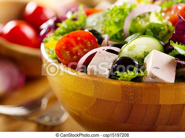 Griechischer Salat - csp15197208