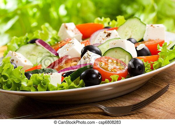 griechischer salat - csp6808283