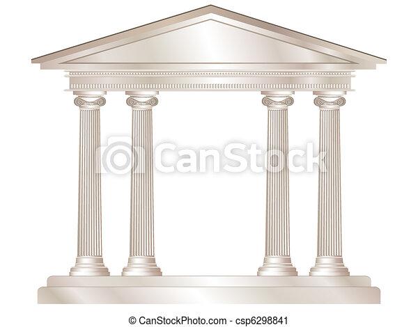 Griechischer Tempel - csp6298841