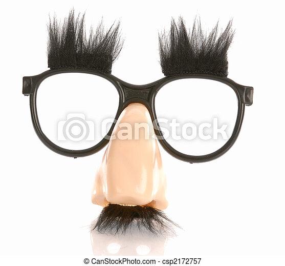 Muffi markiert eine Brille - csp2172757