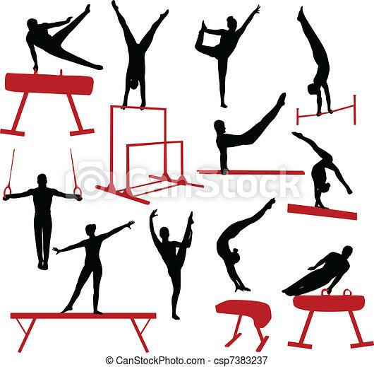 Gymnastik - csp7383237