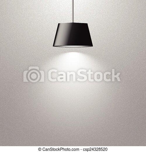 Hängende Lampe. - csp24328520