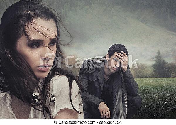 Hübsches junges Paar - csp6384754