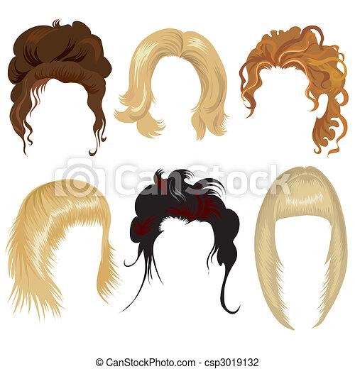 Haare für Frauen - csp3019132