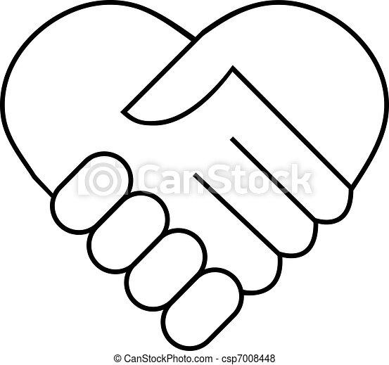 Handschütteln - csp7008448