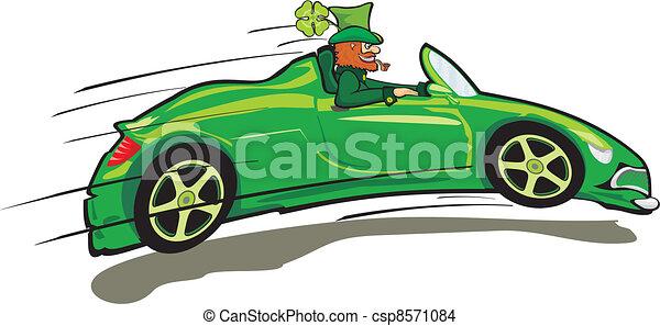 Happy St. Patrick's Day - Kobold - csp8571084