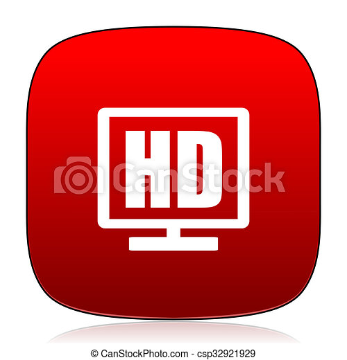 Hd Display Icon. - csp32921929