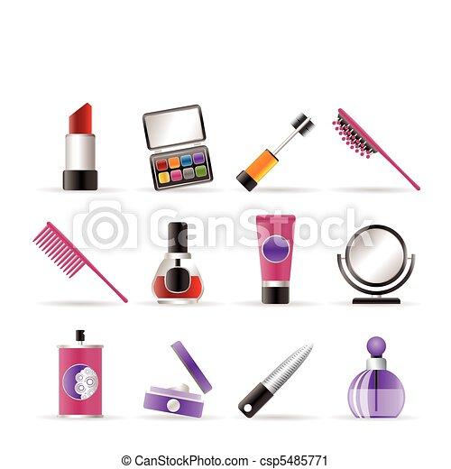 heiligenbilder, schoenheit, make-up, kosmetisch - csp5485771