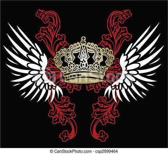 Herald Eagle Emblem - csp2899464