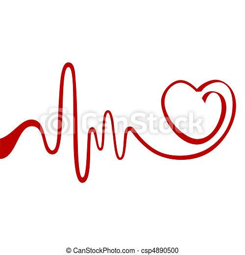 Herz abreißen - csp4890500