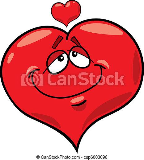 Herz verliebt - csp6003096