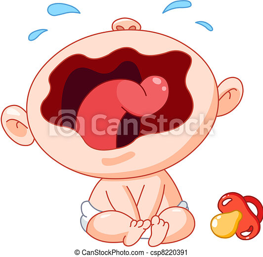 Heulendes Baby - csp8220391
