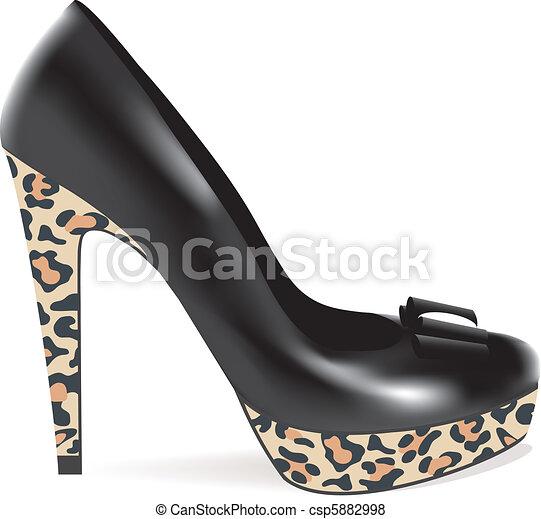 High Heel Schuh. - csp5882998