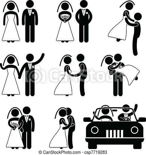 Hochzeits-Braut-Ehe - csp7719283