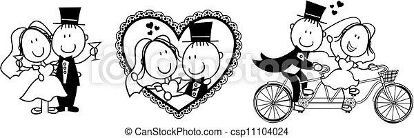 Hochzeits-Vivit ist lustig - csp11104024