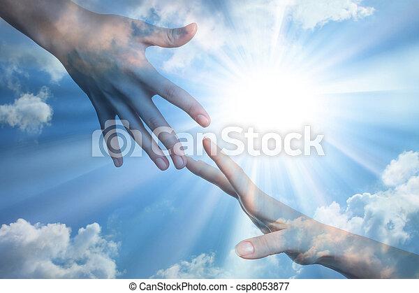 Hoffnung auf Frieden - csp8053877