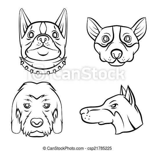 Hundesammlung - csp21785225