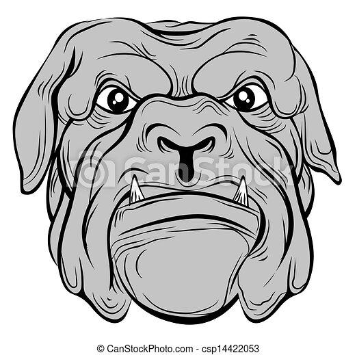 hund, stier - csp14422053