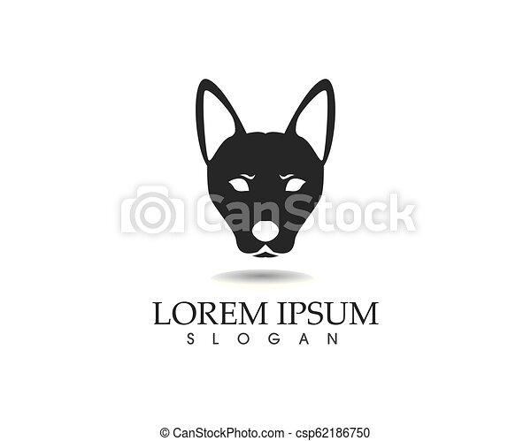 Hundekopf-Logo. - csp62186750