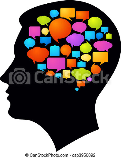 ideen, gedanken - csp3950092