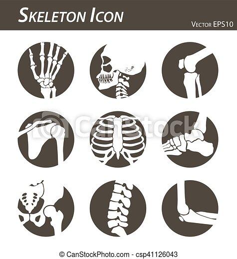 Skeleton Ikone - csp41126043