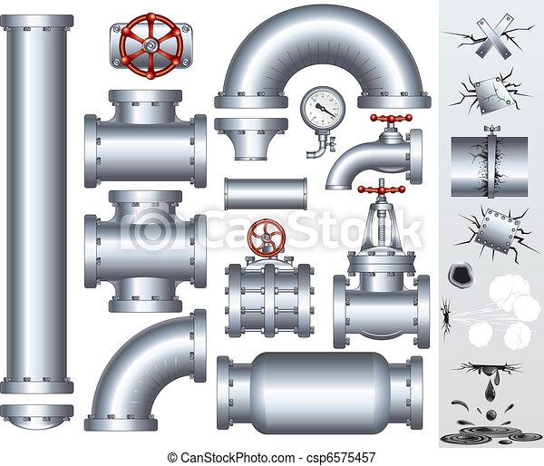 Industrieleitung - csp6575457