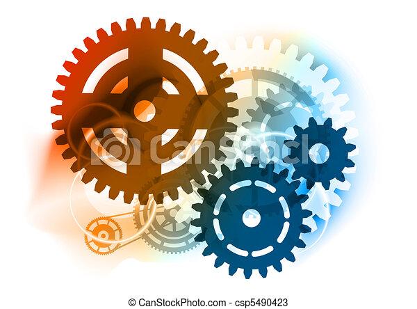 Industrierad - csp5490423