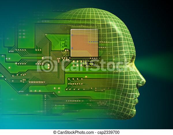 intelligenz, künstlich - csp2339700