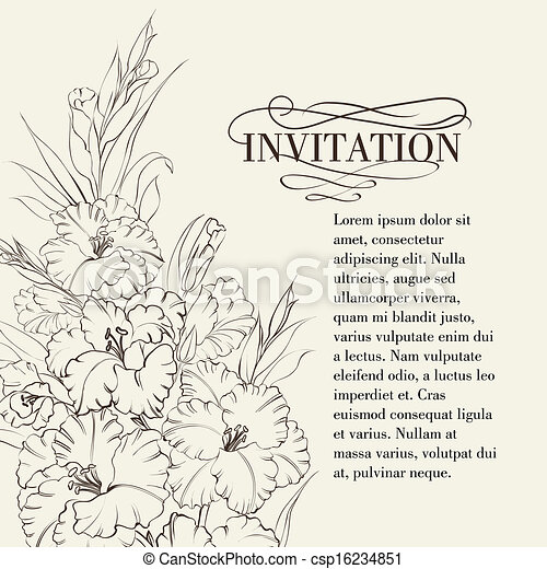 Iris Blumen. - csp16234851